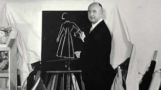 Christian Dior dans son atelier  (DR / Musée Dior)