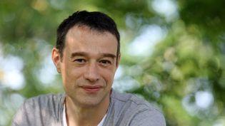 Hervé Lebreton, président de l'Association pour une démocratie directe, le 15 juillet 2013 à Lacépède (Lot-et-Garonne). (NICOLAS TUCAT / AFP)