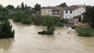 Des pluies diluviennes se sontabattuesdans l'ouest de l'Aude jeudi 9 septembre.L'eau est montée rapidement dans le secteur deLimoux, de Carcassonne et aussi àAlaigne.Les pompiers ont multiplié les interventions. (FRANCE 2)