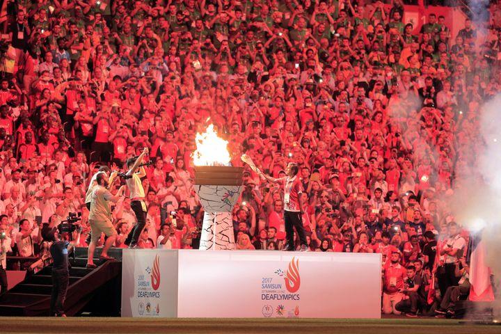 Les derniersDeaflympics ont eu lieu en Turquie lors de l'été 2018. (HAKAN BURAK ALTUNOZ / ANADOLU AGENCY)