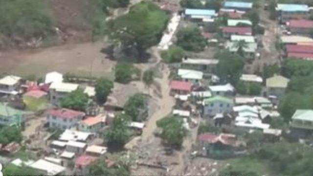 La tempête Erika a dévasté La Dominique