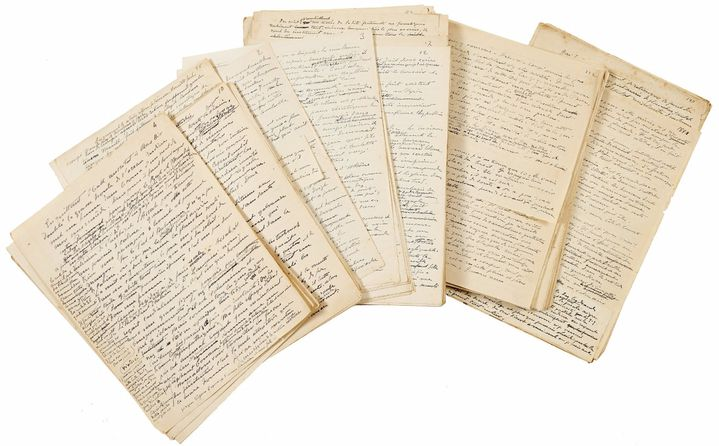 """Manuscrit de Henry de Monfreid (1879-1974) """"La Croisière du hachich""""  (Artcurial)"""