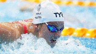 La Française Marie Wattellors de la demi-finale du 100 m papillon, dimanche 25 juillet 2021. (ODD ANDERSEN / AFP)