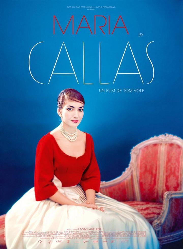 """""""Maria by Callas"""" : l'affiche  (Haut et Court)"""