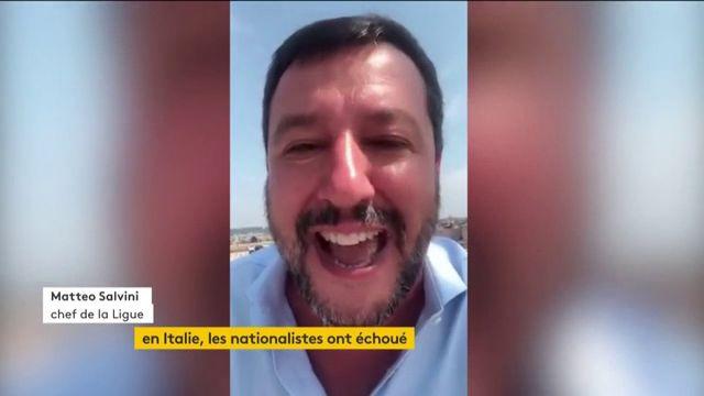 en Italie, les nationalistes ont échoué