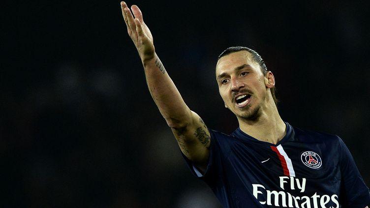 Zlatan Ibrahimovic. (FRANCK FIFE / AFP)