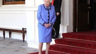 La reine britannique Elizabeth II, aupalais deBuckingham, à Londres, le 24 octobre 2018. (CHRISTOPHER FURLONG / AFP)