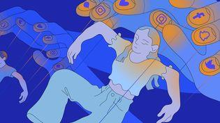 """Disponible sur Netflix depuis le 9 septembre, le documentaire """"Derrière nos écrans de fumée"""" est une violente diatribe contreles géants de la Silicon Valley, accusés de mener l'humanité à sa perte. (JESSICA KOMGUEN / FRANCEINFO)"""