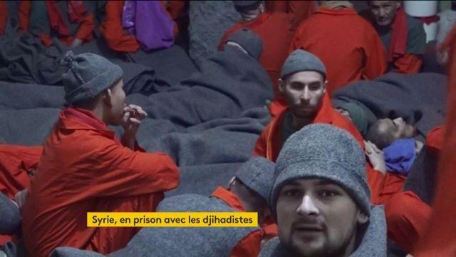 Syrie : dans une prison kurde, les jihadistes étrangers de Daech pensent au jugement ou à la revanche