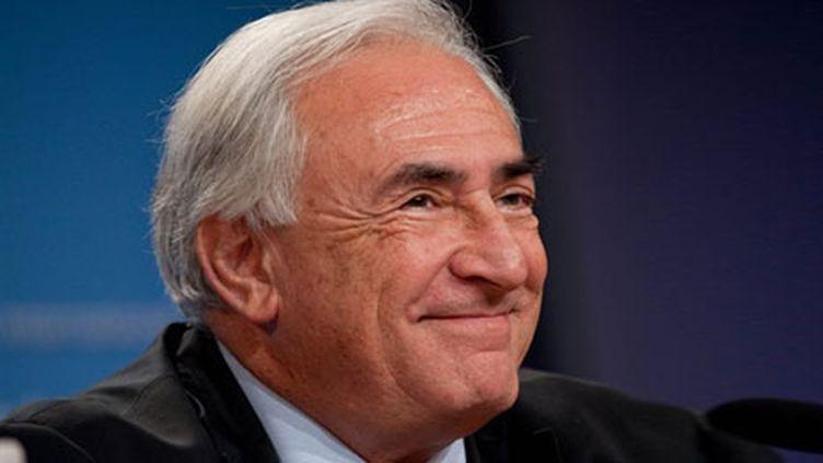 Dominique Strauss-Kahn, le 9 octobre 2010 (AFP  -Nicholas Kamm)