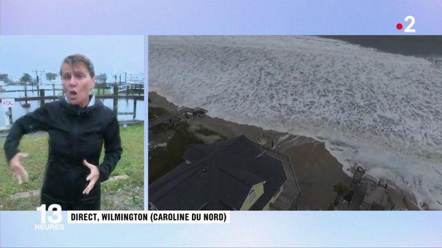 États-Unis : l'ouragan Florence touche la côte Est