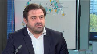 Enrique Martinez, directeur général de Fnac Darty, le 21 octobre 2020. (FRANCEINFO / RADIO FRANCE)