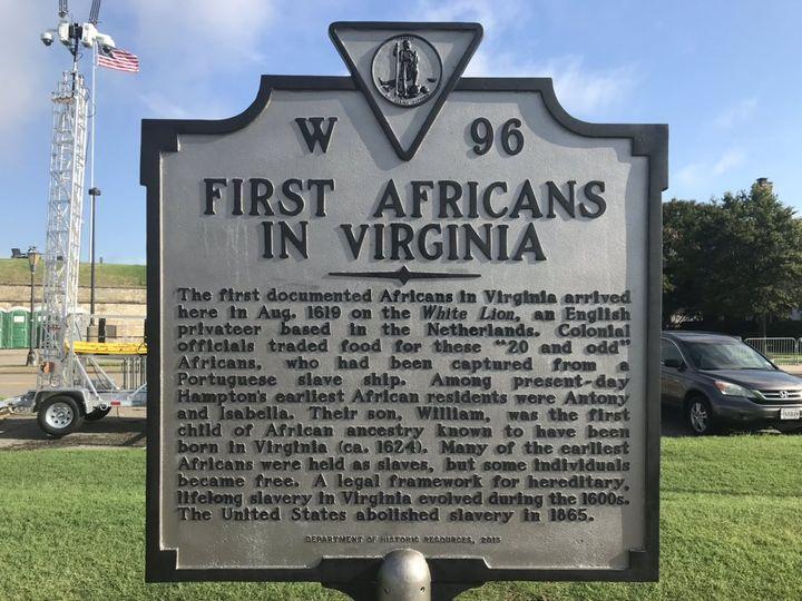 Fort Monroe, en Virginie, à l'endroit où le White Lion a débarqué le 25 août 1619. (GREGORY PHILIPPS / RADIO FRANCE)