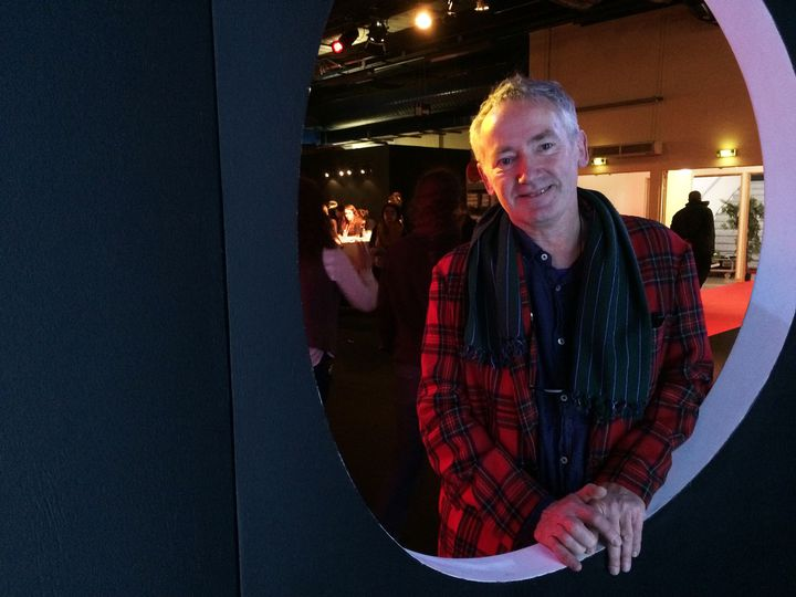 Paul Cox au salon du livre jeunesse de Montreuil, 30 novembre 2016