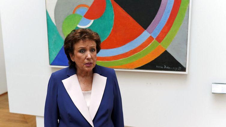 La ministre de la Culture Roselyne Bachelot (31 aoùt 2021 à Lille) (SYLVAIN LEFEVRE / HANS LUCAS VIA AFP)
