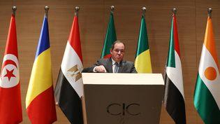 Le ministre algérien des Affaires étrangères, Sabri Boukadoum, à Alger, le 23 janvier 2020. (BILLAL BENSALEM / NURPHOTO)