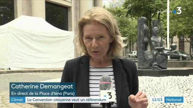 Climat : la convention citoyenne veut un référendum