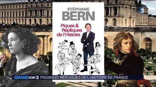 La couverture du livre de Stéphane Bern (France 3)