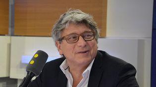 Éric Coquerel,député LFI de Seine-Saint-Denis. (JEAN-CHRISTOPHE BOURDILLAT / FRANCE-INFO)