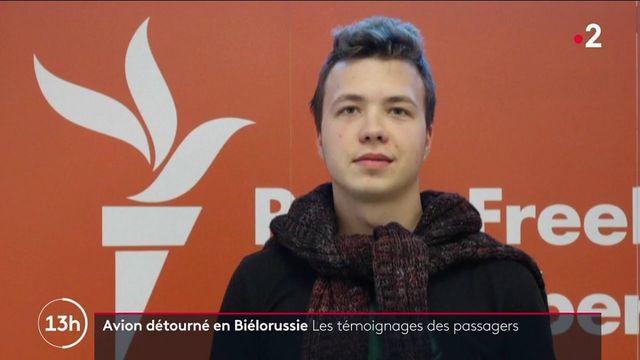 Biélorussie : un avion détourné, un militant anti-régime à son bord