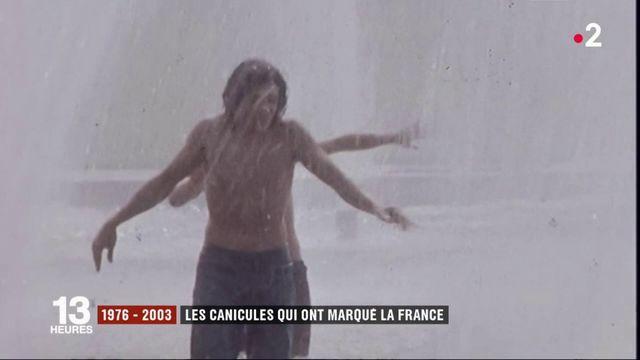 1976-2003 : plongée dans les archives des canicules en France