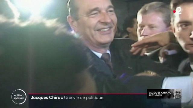 Mort de Jacques Chirac : une vie dédiée à la politique