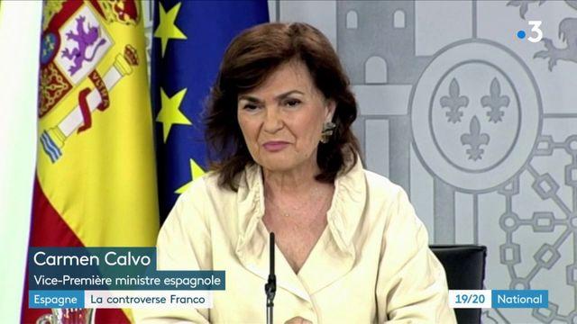 Espagne : la controverse autour de l'exhumation de Franco
