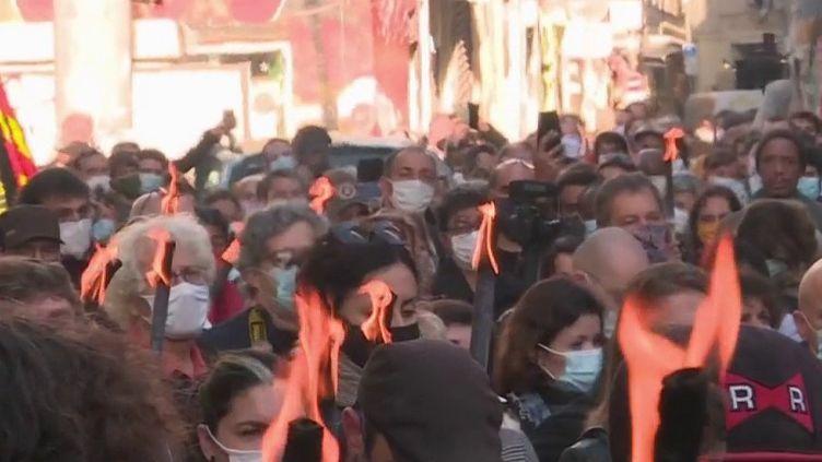 Marseille : il y a deux ans, deux immeubles de la rue d'Aubagne s'effondraient (France 3)