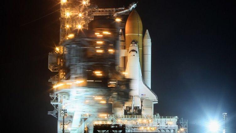 La navette Discovery à Cap Canaveral (Floride), le 23 février 2011. (Mark Wilson/Getty Images/AFP)