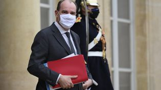 Jean Castex le 27 janvier 2020 à l'Elysée. (JULIEN MATTIA / ANADOLU AGENCY / AFP)