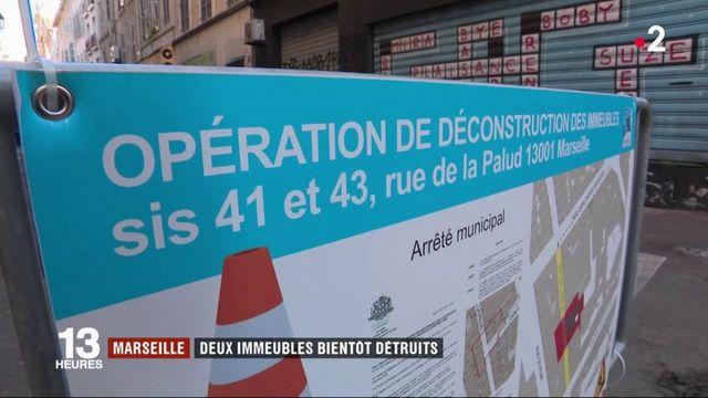 Marseille : deux immeubles bientôt détruits