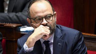 Le Premier ministre Edouard Philippe à l'Assemblée nationale, à Paris, le 12 décembre 2018. (BERTRAND GUAY / AFP)
