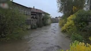 Comme en France, le nord de l'Italie a été touché par des pluies diluviennes. C'est la même dépression météorologique qui a touché la France. (CAPTURE ECRAN FRANCE 2)