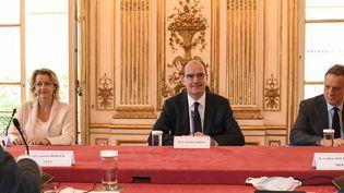 Jean Castex a annoncé vendredi 17 juillet le report de la réforme des retraites et de celle de l'assurance-chômage (BERTRAND GUAY / AFP)