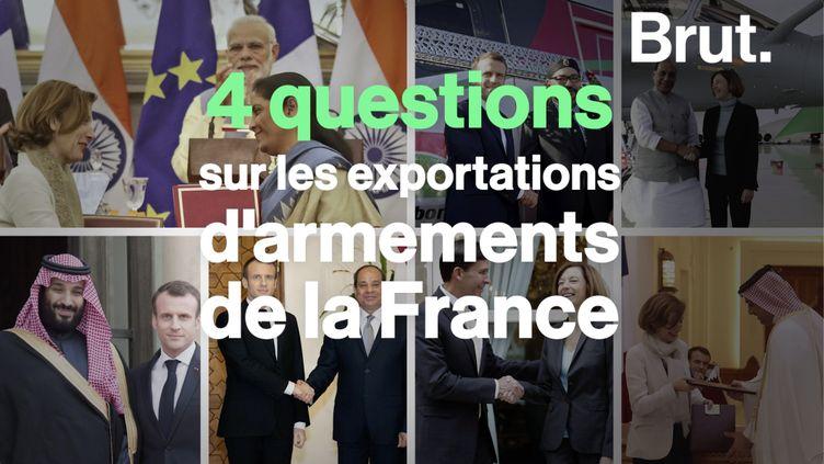 VIDEO. 4 choses à savoir sur les exportations d'armement de la France (BRUT)