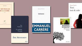 Dernière sélection du prix Renaudot  (DR)