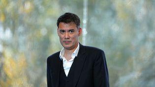 Olivier Faure, porte-parole du PS et député de Seine-et-Marne, en août 2016. (ERIC PIERMONT / AFP)