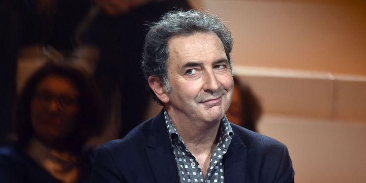 """François Morel le 16 novembre dans l'émission """"La Grande Librairie"""" sur France 5.  (Loïc Venance / AFP)"""