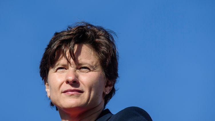 La ministre des Sports, Roxana Maracineanu. (PHILIPPE LOPEZ / AFP)
