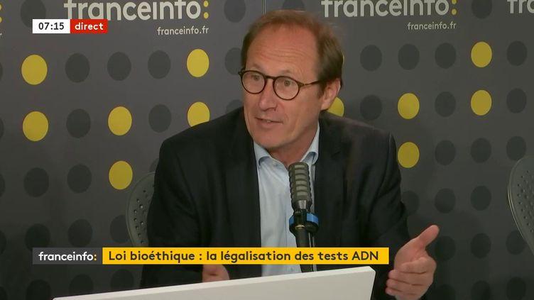 Bruno Fuchs, député MoDem du Haut-Rhin, était l'invité de franceinfo jeudi 30 juillet 2020. (FRANCEINFO / RADIO FRANCE)