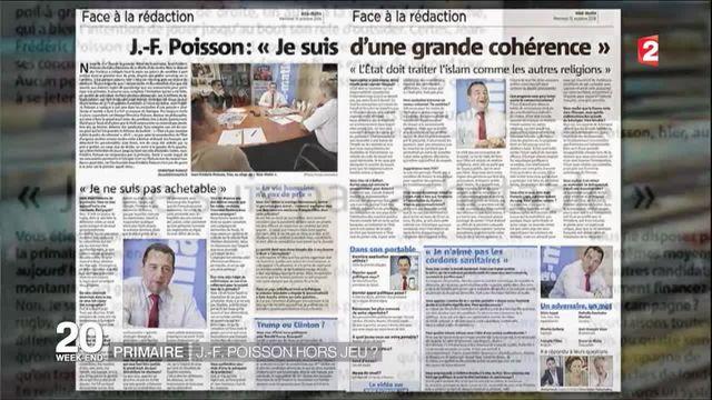Primaire de la droite : J-F Poisson déjà hors-jeu ?