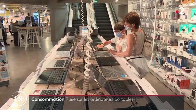 Consommation : les Français se ruent sur les ordinateurs portables