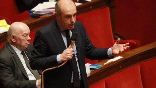 Olivier Marleix, député Les Républicains d'Eure-et-Loir, à l'Assemblée nationale, le 24 février 2020. (LUDOVIC MARIN / AFP)