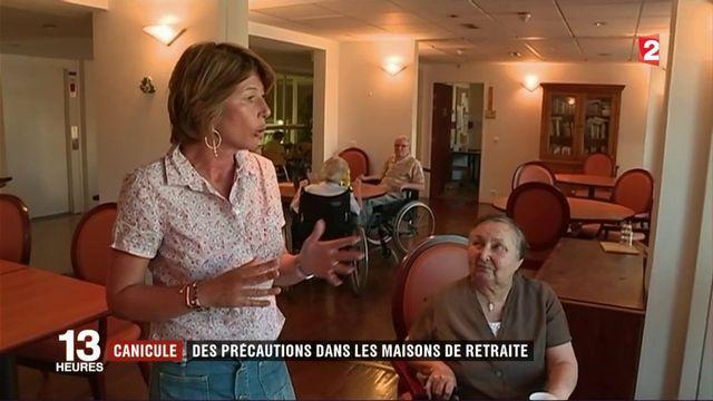 Canicule : des précautions dans les maisons de retraite