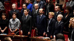 Une partie du gouvernement à l'Assemblée nationale, le 12 décembre 2018. (BERTRAND GUAY / AFP)