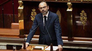Le Premier ministre Edouard Philippe à l'Assemblée nationale à Paris, le 5 décembre 2018. (ALAIN JOCARD / AFP)