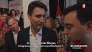 Volte-face de Justin Trudeau sur le pipeline Kinder Morgan (FRANCE 2 / FRANCETV INFO)