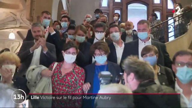 Municipales : Lille, victoire sur le fil pour Martine Aubry