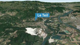 Les 8 500 habitants du Teil (Ardèche) sont sous le choc après le séisme de magnitude 5,4 survenu lundi 11 novembre. En duplex sur place, le maire de la commune, Olivier Peverelli, dresse le bilan de la catastrophe naturelle. (FRANCE 3)