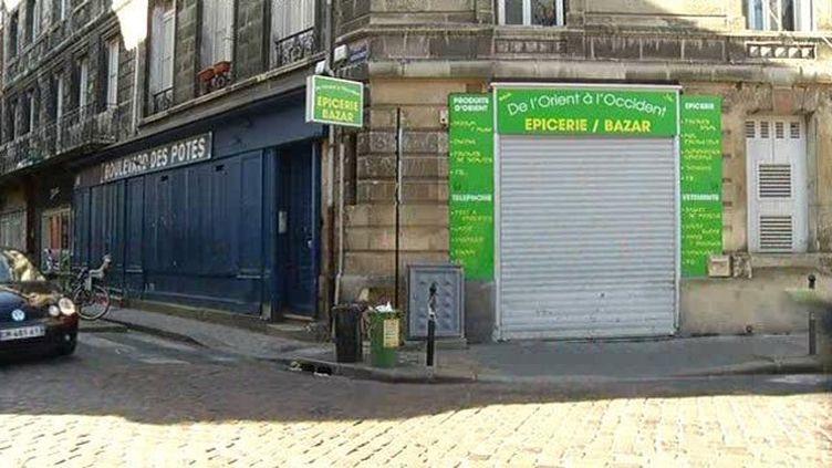 L'épicerie de Bordeaux qui imposait des jours d'ouverture différents pour les hommes et les femmes. (FRANCE 3 AQUITAINE)